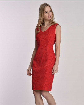 Brocade summer dress