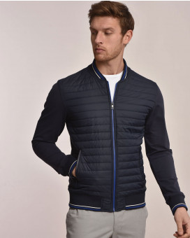 Light weight bomber jacket comfort fit