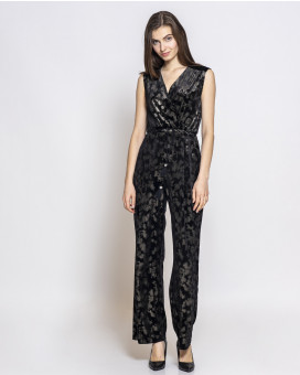 Brocade jumpsuit