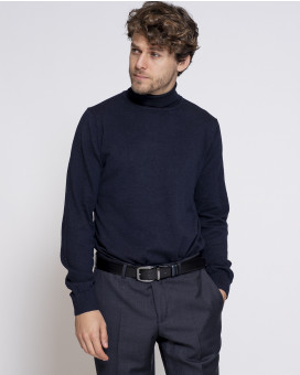 Turtleneck knitwear classic fit
