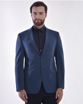 Cotton suit blazer slim fit