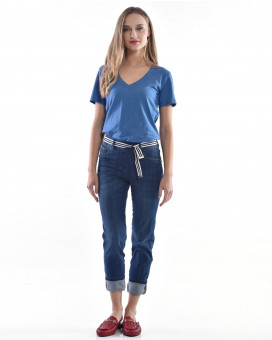 Skinny cropped jean