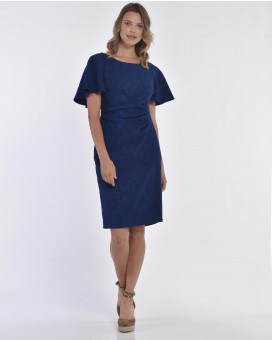 Bodycon and ruffled detailed dress