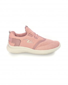 Pink toned sneakers