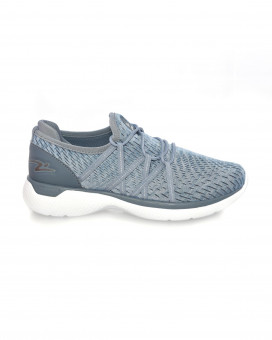 Blue toned sneakers