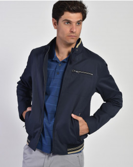 Light weight bomber jacket modern fit