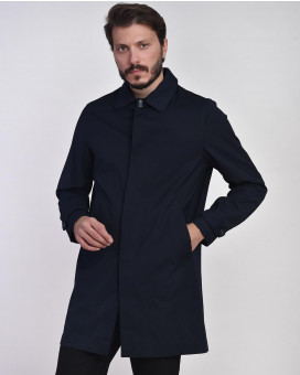 Minimal line trench coat modern fit