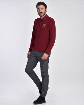 Sporty style cargo παντελόνι modern fit