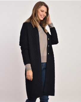 Single color cardigan