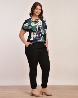PLUS SIZE-Casual style παντελόνι