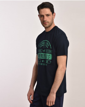 Stamped t-shirt modern fit