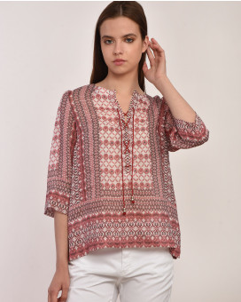 Ethnic printed tunic