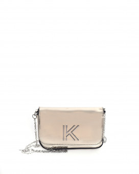 Kendall + Kylie mirror effect bag