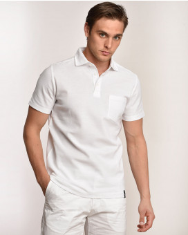 Single color polo t-shirt modern fit