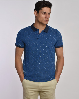 Pinpoint polo t-shirt modern fit