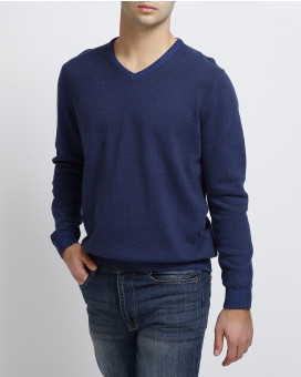 Basefield v-neck sweater modern fit