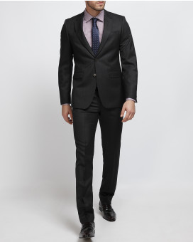 Don by Don Hering herringbone κοστούμι slim fit