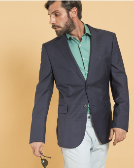 Don Hering καρό σακάκι modern fit
