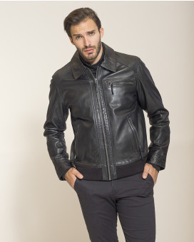 B. S BAG'S bomber nappa leather jacket comfort fit