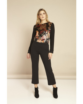 PLUS SIZE- Cropped style παντελόνι