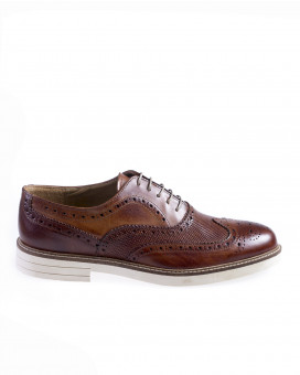 Wing tip brogues derby shoes