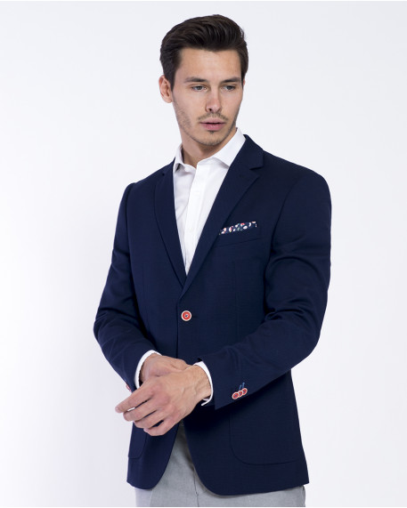 Unconstructed σακάκι slim fit