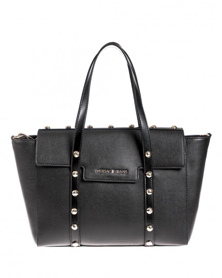 Studded medium size tote τσάντα