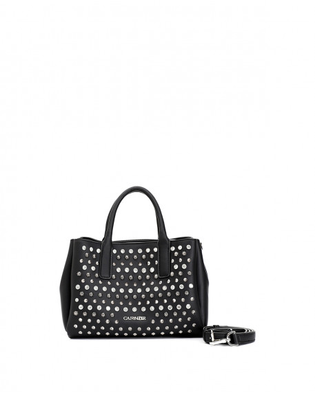 Studded style tote τσάντα