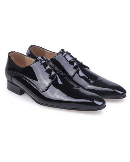 Kaiser Hoff Exclusive patent leather oxford παπούτσια