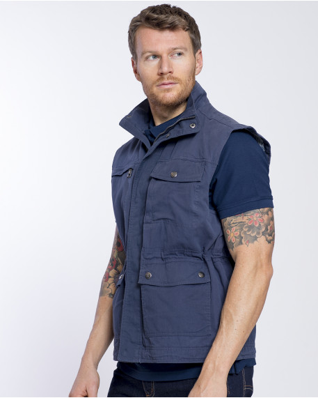 Every day cotton vest modern fit