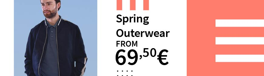 Spring Outerwear from 69,50